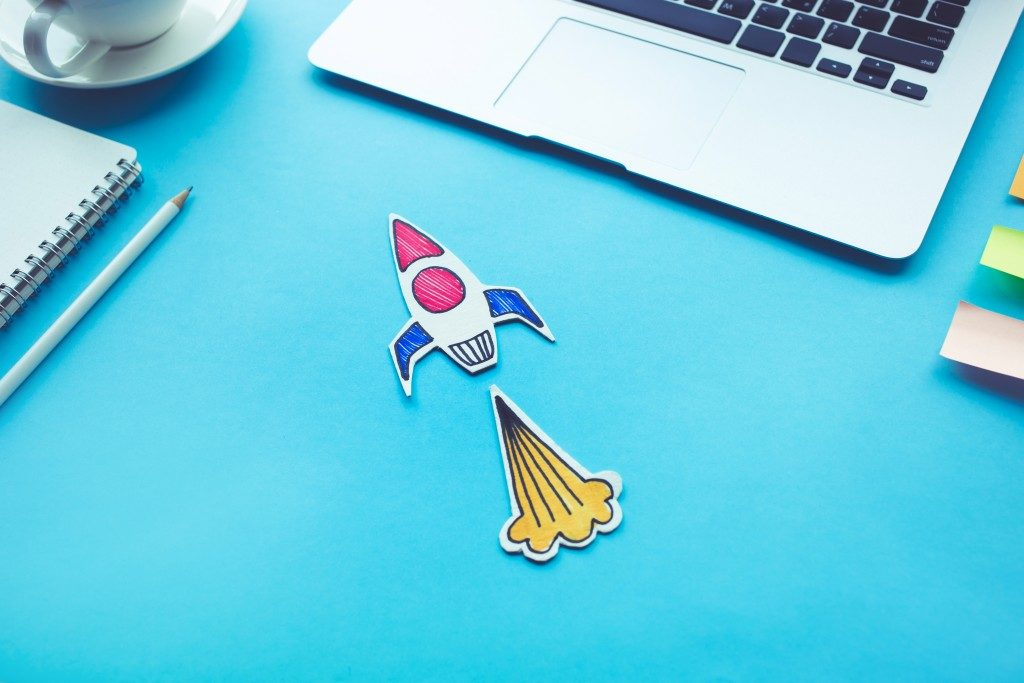Digital marketing rocket