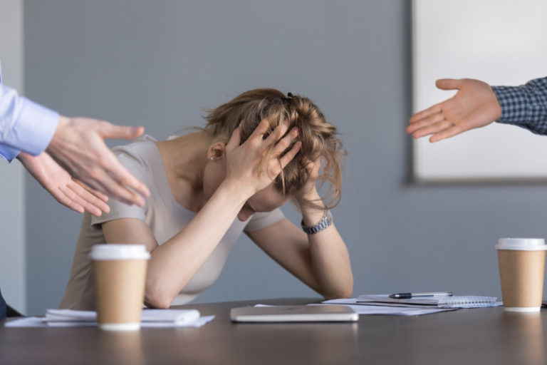 employee pressured